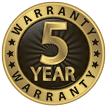 5 Year Warranty - Roofing