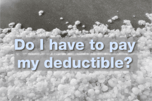 hail deductible