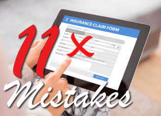 11 mistakes homeowners make when filing an insurance claim