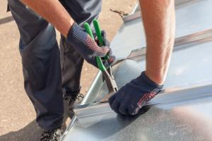 Seaming Metal Roof Panels after panel replacement instead of patching