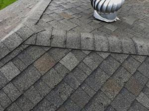 Hail Damaged Roof that needs replaced