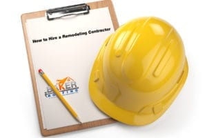 How to hire a remodeling contractor