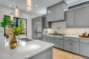 Kitchen Remodel in Gray tones