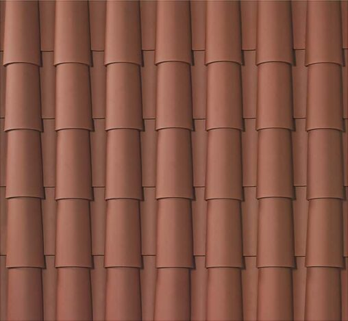 Faux mission tile by Boral clay roofing tile